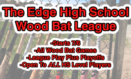 Edge Wooden Bat League v2