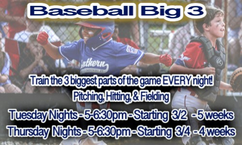 Baseball Big 3 March